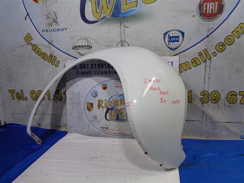 SMART CARROZZERIA  SMART FORFOUR '05 PARAFANGO POSTERIORE SX BIANCO (LESIONATO)