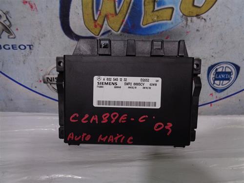 MERCEDES ELETTRONICA  MERCEDES CLASSE C '03 CENTRALINA CAMBIO AUTOMATICO TEMIC A0325451232