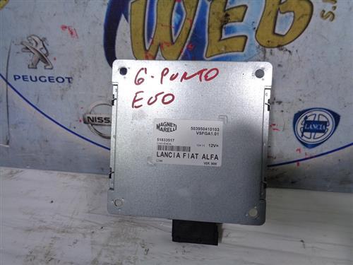 FIAT ELETTRONICA  FIAT PUNTO EVO MODULO CONTROLLO AUTORADIO 51833517