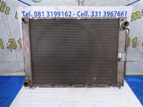 RENAULT TERMICO CLIMA  RENAULT MODUS 1.5 DCI '05 RADIATORE ACQUA E A/C 8200134606