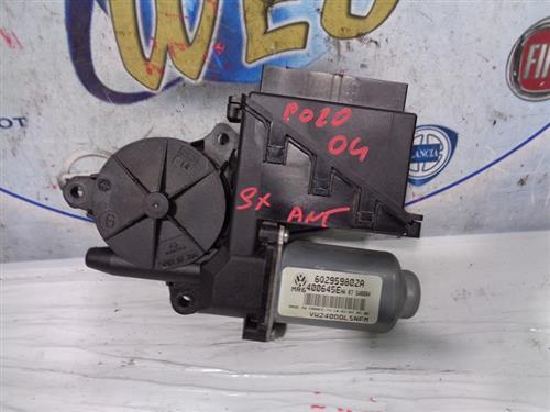 VOLKSWAGEN ELETTRONICA  VOLKSWAGEN POLO '04  MOTORINO ALZAVETRO ANTERIORE SX 6Q2959802A