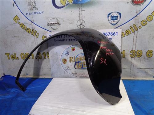 SMART CARROZZERIA  SMART FORFOUR '07 PARAFANGO POSTERIORE SX NERO (LEGG.GRAFFIATO)