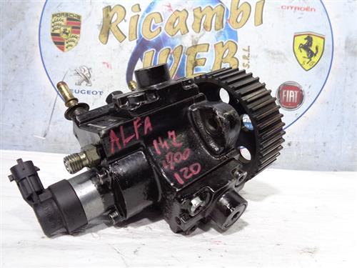 ALFA ROMEO MECCANICA  ALFA ROMEO 147 - 156 1.9 JTD 120cv POMPA COMMON RAIL 0445010130