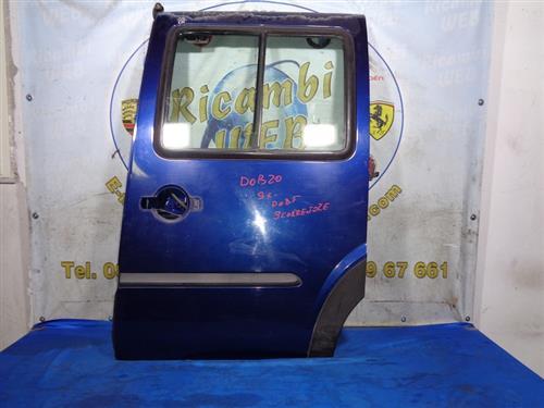 FIAT CARROZZERIA  FIAT DOBLO '02 SPORTELLO SCORREVOLE SX BLU