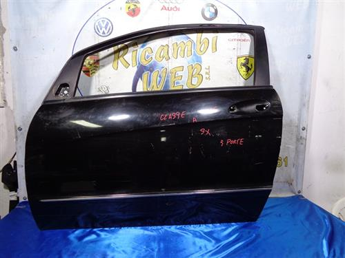 MERCEDES CARROZZERIA  MERCEDES CLASSE A 3 PORTE '06 SPORTELLO SX NERO (GRAFFIATO)