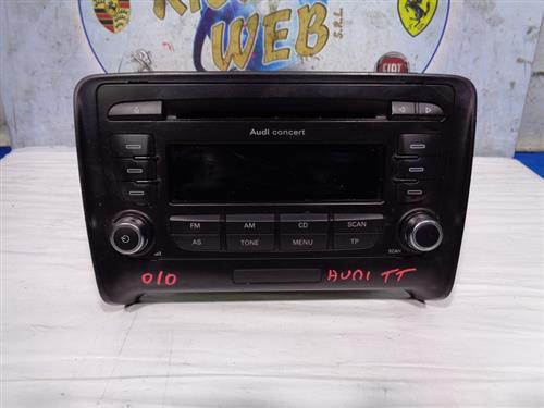 AUDI ELETTRONICA  AUDI TT '10 AUTORADIO CD (SENZA CODICE)