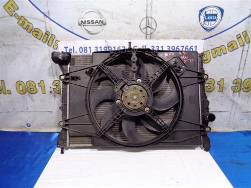 ALFA ROMEO TERMICO CLIMA  ALFA ROMEO 147 1.9 JTD RADIATORE ACQUA COMPLETO DI VENTOLA