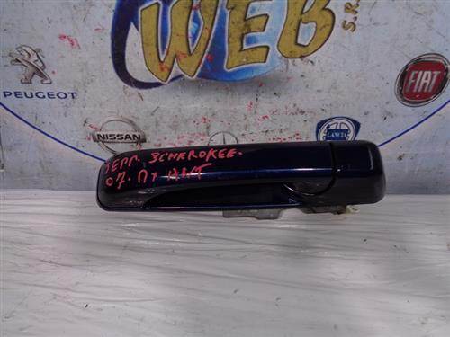 JEEP CARROZZERIA  JEEP CHEROKEE '07 MANIGLIA ESTERNA ANTERIORE DX BLU