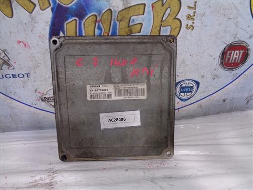 CITROEN ELETTRONICA  CITROEN C3 1.4 HDI CENTRALINA CAMBIO AUTOMATICO S118475202C