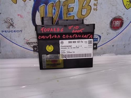 VOLKSWAGEN ELETTRONICA  VOLKSWAGEN TOUAREG '04 CENTRALINA CHIUSURA CENTRALIZZATA 3D0909137FX
