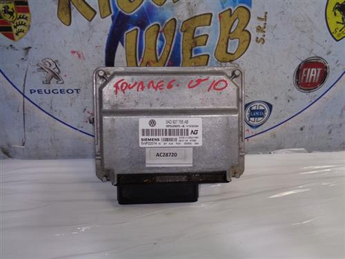 VOLKSWAGEN ELETTRONICA  VOLKSWAGEN TOUAREG V10 '04 CENTRALINA CAMBIO AUTOMATICO 0AD927755AB