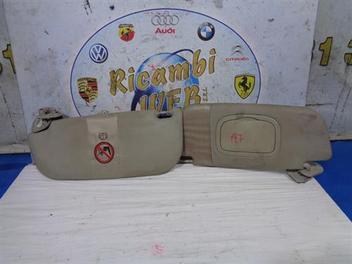 ALFA ROMEO CARROZZERIA  ALFA ROMEO 147 ALETTA PARASOLE DX - SX (PREZZO CADAUNO)*