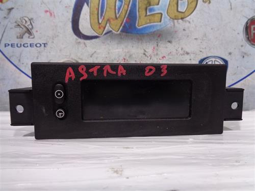 OPEL ELETTRONICA  OPEL ASTRA G DISPLAY CENTRALE 1023552-00