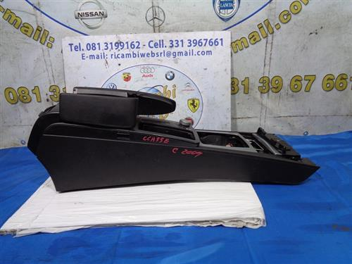 MERCEDES CARROZZERIA  MERCEDES CLASSE C '09 TUNNEL CENTRALE COMPLETO DI BRACCIOLO