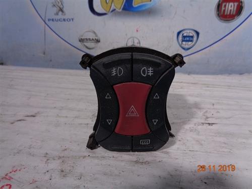 FIAT ELETTRONICA  FIAT DOBLO PULSANTIERA CENTRALE (FENDINEBBIA E TERGILUNOTTO)