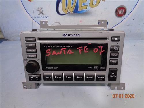 HYUNDAI CARROZZERIA  HYUNDAI SANTA FE '07 AUTORADIO MP3 (SENZA CODICE)