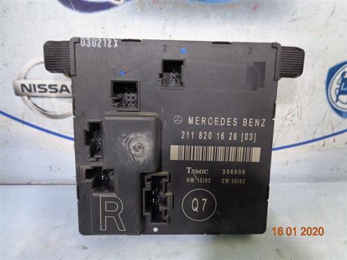 MERCEDES ELETTRONICA  MERCEDES CLASSE E '05 MODULO DI CONTROLLO POSTERIORE DX 2118201626