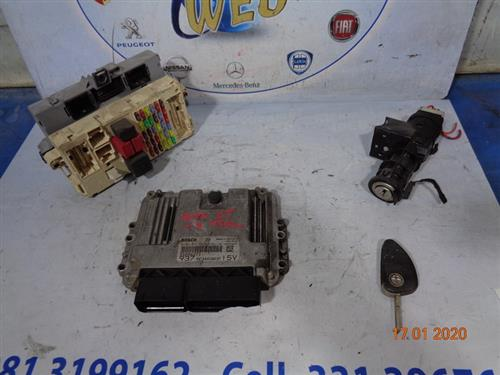 ALFA ROMEO ELETTRONICA  ALFA ROMEO GT 1.9 MLTJ 150cv KIT CHIAVI 0281012883