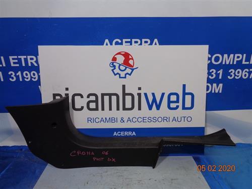 FIAT CARROZZERIA  FIAT CROMA '06 BATTITACCO ANTERIORE DX NERO