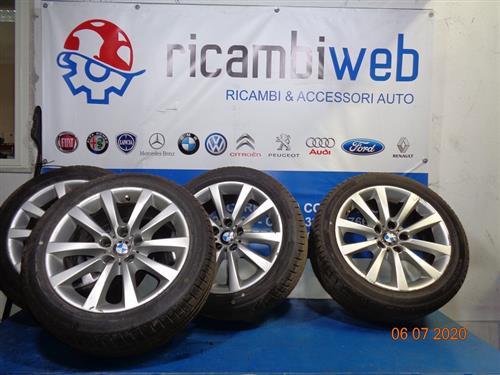 BMW ACCESSORI  BMW SERIE 5 '15 CERCHI IN LEGA R18 CON GOMME HANKOOK 245/45 (AL 60%)