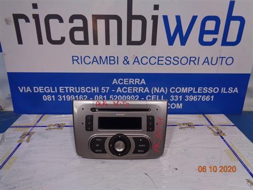 ALFA ROMEO ELETTRONICA  ALFA ROMEO MITO 2008 AUTORADIO BLAUPUNKT SENZA CODICE