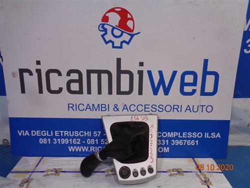 ALFA ROMEO ACCESSORI  ALFA ROMEO 156 '03 CUFFIA CAMBIO COMPLETA DI POMELLO E CONSOLLE