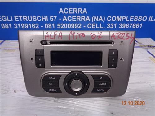 ALFA ROMEO ELETTRONICA  ALFA ROMEO MITO '07 AUTORADIO SENZA CODICE