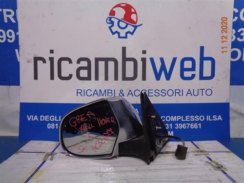 GREAT WALL CARROZZERIA  GREAT WALL HOVER 5 SPECCHIETTO SX CROMATO 5 FILI