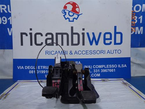 FIAT MECCANICA  FIAT 500 '010 PEDALIERA COMPLETA 51804329