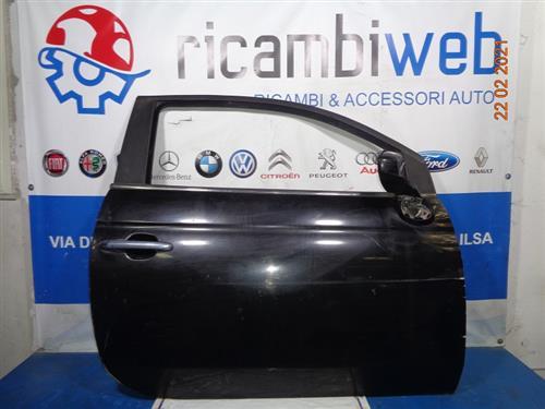 FIAT CARROZZERIA  FIAT 500 '010 SPORTELLO DX NERO GRAFFIATO