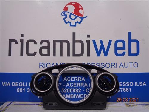 MINI CARROZZERIA  MINI COOPER S R50/R53 MODANATURA QUADRO STRUMENTI COMPLETO 0769337