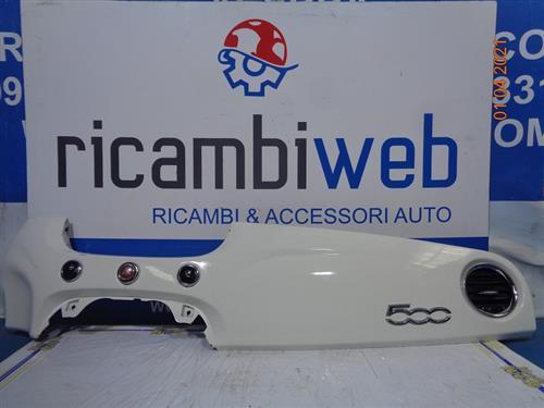 FIAT CARROZZERIA  FIAT 500 '08 MODANATURA PLANCIA CRUSCOTTO BIANCA 51803289