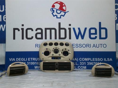 FIAT TERMICO CLIMA  FIAT 600 2008 BOCCHETTE A/C COMPLETE BEIGE/PANNA