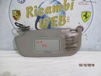 ALFA ROMEO CARROZZERIA  ALFA ROMEO 147 1 SERIE ALETTA PARASOLE CON  LUCE SX-DX ( PREZZO CAD.)*