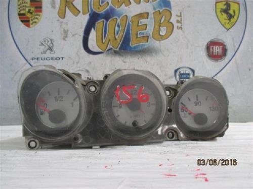 ALFA ROMEO ELETTRONICA  ALFA ROMEO 156 QUADRO STRUMENTI TEMPERATURA - SEGNALATORE CARBURANTE