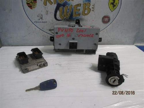 FIAT ELETTRONICA  FIAT PUNTO 1.2 16V KIT ACCENSIONE  BOSCH 0261208029 *PROMO*