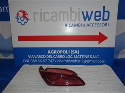 ALFA ROMEO CARROZZERIA  ALFA ROMEO 159 FANALE POSTERIORE SX INTERNO BAULE