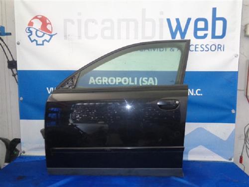 AUDI CARROZZERIA  AUDI A4 '07 SPORTELLO ANTERIORE SX NERO COMPLETO *