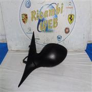 ALFA ROMEO CARROZZERIA  ALFA ROMEO 147 '01 SPECCHIETTO SX ELETTRICO 5 FILI NERO PLASTICA