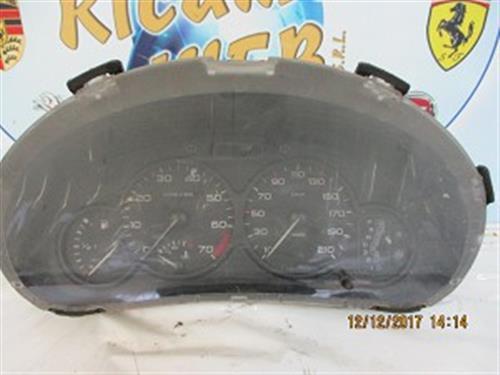 ELETTRONICA  PEUGEOT 206 BENZINA 2001 QUADRO STRUMENTI 9643401680 CAMBIO AUTOMATICO