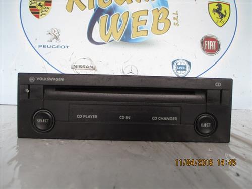 VOLKSWAGEN ELETTRONICA  VOLKSWAGEN GOLF 4 2000 CARICATORE CD