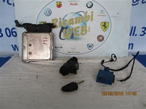 ALFA ROMEO ELETTRONICA  ALFA ROMEO 156 2.0 BENZINA KIT CHIAVI 0261S01029 **PROMO** *