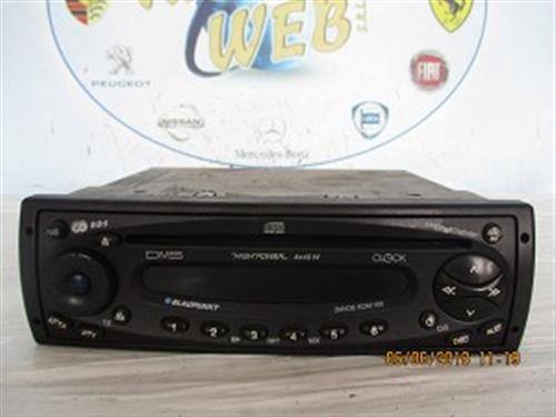 BLAUPUNKT ELETTRONICA  BLAUPUNKT AUTORADIO CON CD DAVOS RDM 169