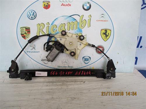 ALFA ROMEO CARROZZERIA  ALFA ROMEO 156 CREMAGLIERA ANTERIORE SX *