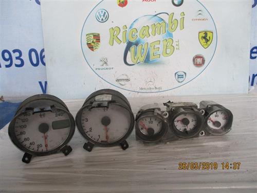 ALFA ROMEO ELETTRONICA  ALFA ROMEO 156 2.4 JTD QUADRO STRUMENTI 60669701